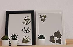 Zrkadlá - Jarný OBRAZ - Zrkadlo s brečtanom - 13177096_