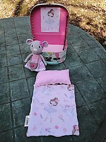 Hračky - Myška Zara v mini kufríku - 13177610_