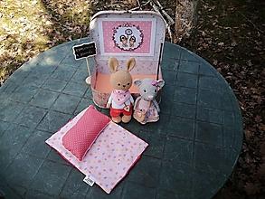 Hračky - Čarovný kufrík : Esmeralda a Bonifác - 13177772_