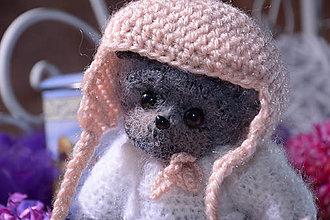 Hračky - Charming teddy THEODORA - 13176114_