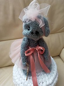Hračky - Charming teddy STELLA - 13177376_
