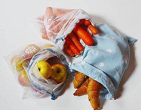 Úžitkový textil - Zero waste sada (Lesná) - 13177473_