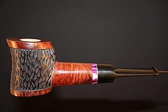 Iné - Štýlová fajka z briárového dreva #2104 - 13175786_