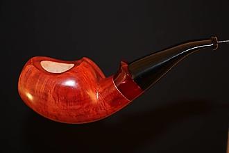 Iné - Štýlová fajka z briárového dreva #2105 - 13175812_