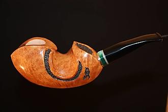 Iné - Štýlová fajka z briárového dreva #2106 - 13175830_