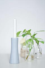 Svietidlá a sviečky - Svietnik/váza šedý 3 - 13179377_