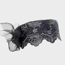 Čiapky - Krajkový klobúčik - 13176685_