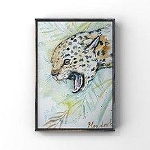 Obrazy - Originál maľba-Gepard - 13178938_