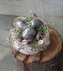 Dekorácie - Veľkonočná dekorácia - 13182762_