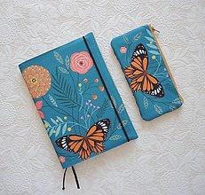 Papiernictvo - Zápisník a taštička - 13180850_