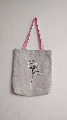 Nákupné tašky - Plátená taška - láska - 13181717_