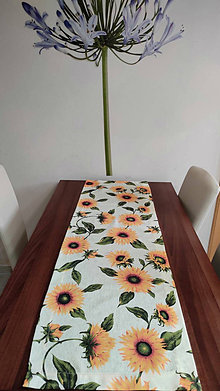 Úžitkový textil - obrus-slnečnice - 13181385_