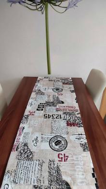 Úžitkový textil - obrus-káva 1 - 13181557_