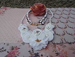 Sady šperkov - Svadobno-nesvadobná sada - 13183012_