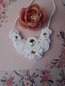 Náhrdelníky - Svadobno-nesvadobný náhrdelník - 13183125_