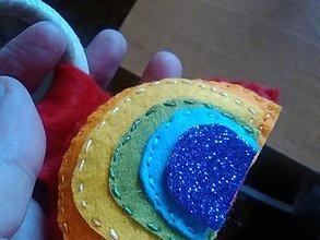 Hračky - Dúha pre deti-  úchopová hračka pre batoľatá - 13179583_