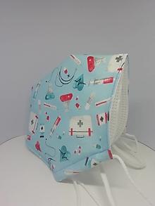 Rúška - OBAL na respirátor FFP2 - 13181417_