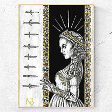Obrázky - Obraz Kráľovná (print) - 13180087_