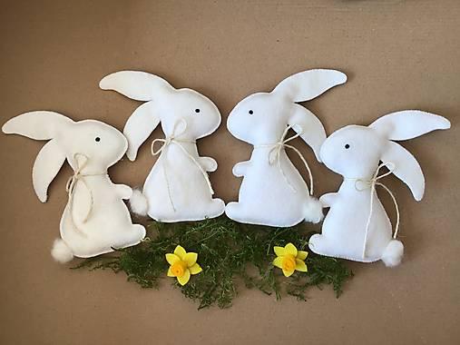 Veľkonočný zajačik biely ekologický