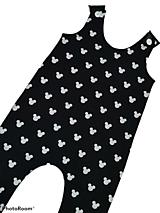 Detské oblečenie - Tepláčiky na traky myšiak - 13182500_