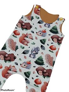 Detské oblečenie - Tepláčiky na traky zvieratká - 13181951_