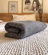 Úžitkový textil - Ľanový prehoz - 13179749_