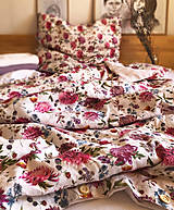 Úžitkový textil - Ľanové posteľné obliečky VIOLA - 13180098_