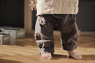 Detské oblečenie - FERU pudlové nohavice UNISEX - 13188393_