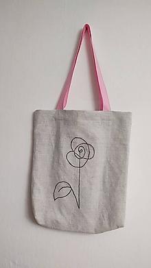 Nákupné tašky - Plátená taška - jemnosť - 13188222_