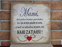 Tabuľky - MAMI - odkaz pre mamku (1 ❤) - 13184482_