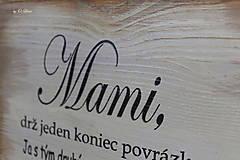 Tabuľky - MAMI - odkaz pre mamku (1 ❤) - 13184485_