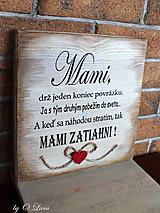 Tabuľky - MAMI - odkaz pre mamku (1 ❤) - 13184486_