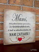 Tabuľky - MAMI - odkaz pre mamku - 13184487_