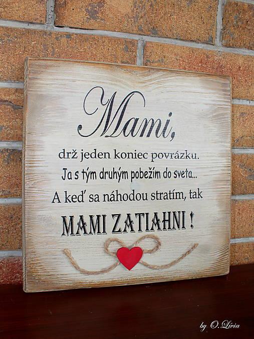 MAMI - odkaz pre mamku