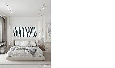 Obrazy - Čierno-biele pruhy - 13189131_