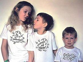 Detské oblečenie - tričká pre deti - 13188400_