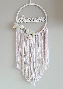 """Dekorácie - Lapač snov """" Flower Dream"""" - 13188176_"""