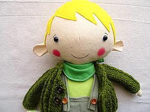 Hračky - Šaňo - bábika chlapec - 13188178_