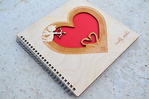 """Svadobný fotoalbum """"Láska"""" (Srdce)"""