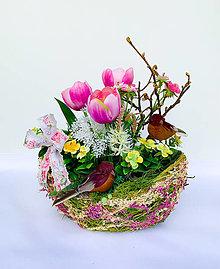 Dekorácie - Kvetinová dekorácia - 13186388_