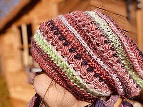 Čiapky - Prechodná čiapka - Kikina - 13185995_