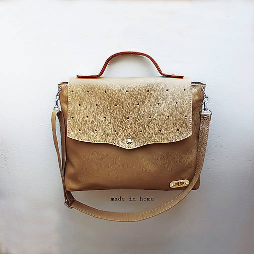 Kabelky - Kabelka ARTbag leather  - 13187596_