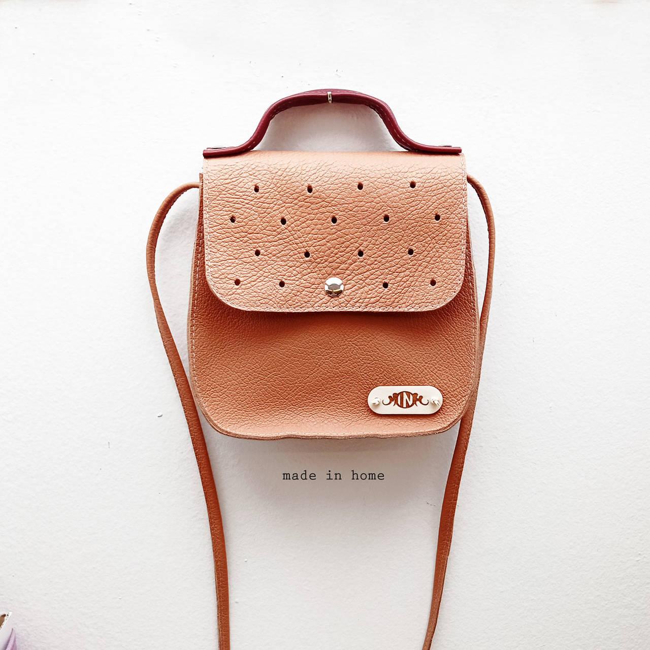 Kabelka ART minibag leather no.2