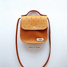 Kabelky - Kabelka ART minibag leather no.1 - 13187925_