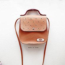 Kabelky - Kabelka ART minibag leather no.2 - 13188243_