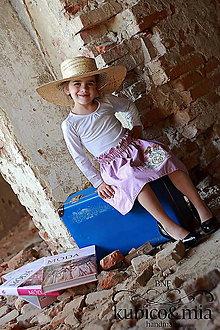 Detské oblečenie - suknička obojstranná - 13193482_