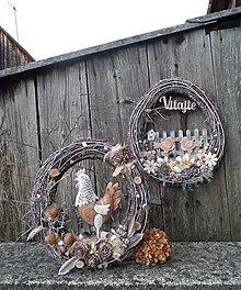 Dekorácie - Jarné dekorácie z brezového prútia - Na tom našom dvore, .... - 13190533_