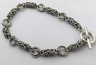Šperky - pánsky náramok MAGIC RINGS - 13192353_