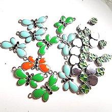 Korálky - VÝPREDAJ -korálky a motýliky - 13190388_