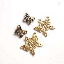 Komponenty - VÝPREDAJ -motýliky - veľké balenie - 13190431_